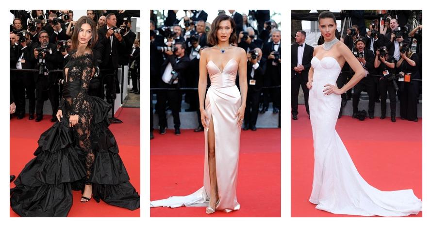20 Gaun terbaik di red carpet Cannes 2017, glamor dan sangat memukau