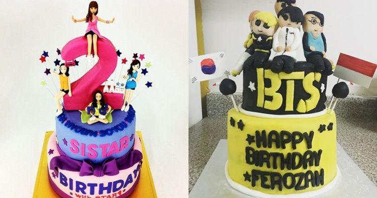 10 Kue Tart Bertema Idol K Pop Ini Unik Jadi Nggak Tega
