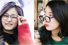 12 Idol K-Pop cewek ini cantiknya nambah pas pakai kacamata, gemes deh