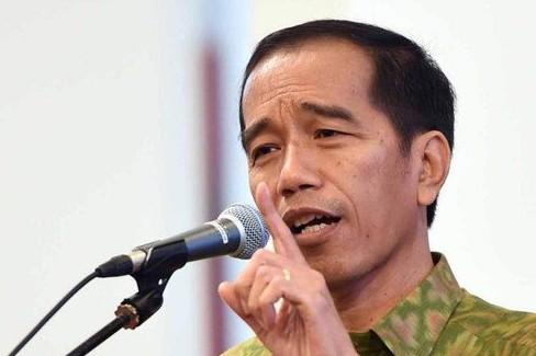 Presiden Jokowi: Gebuk dan tendang ormas penentang Pancasila!
