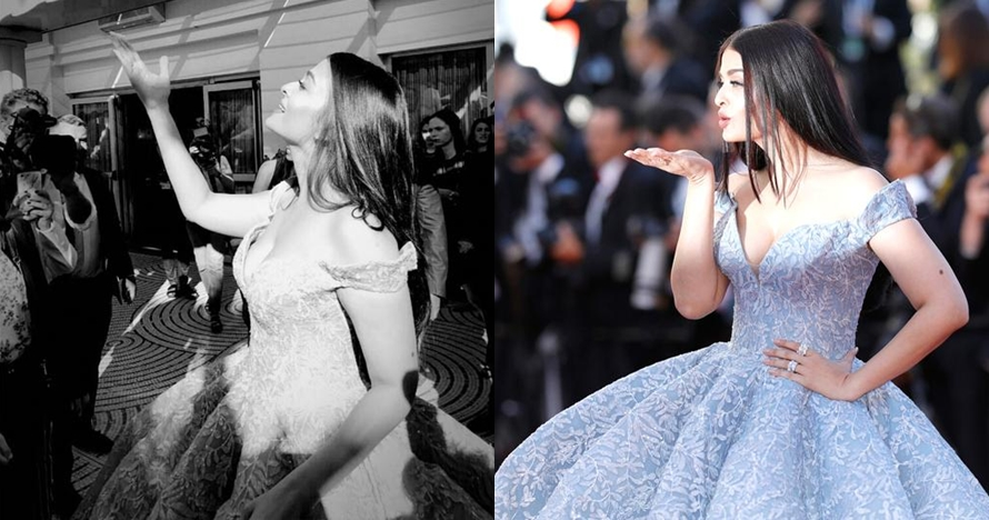 Kenakan gaun Cinderella di Cannes 2017, Aishwarya Rai banjir pujian