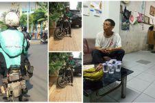RX King driver ojek online yang viral akhirnya di-remake, bikin haru