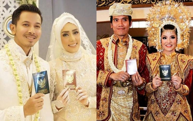 Hitungan bulan pacaran, 5 pasangan artis ini mantap menikah
