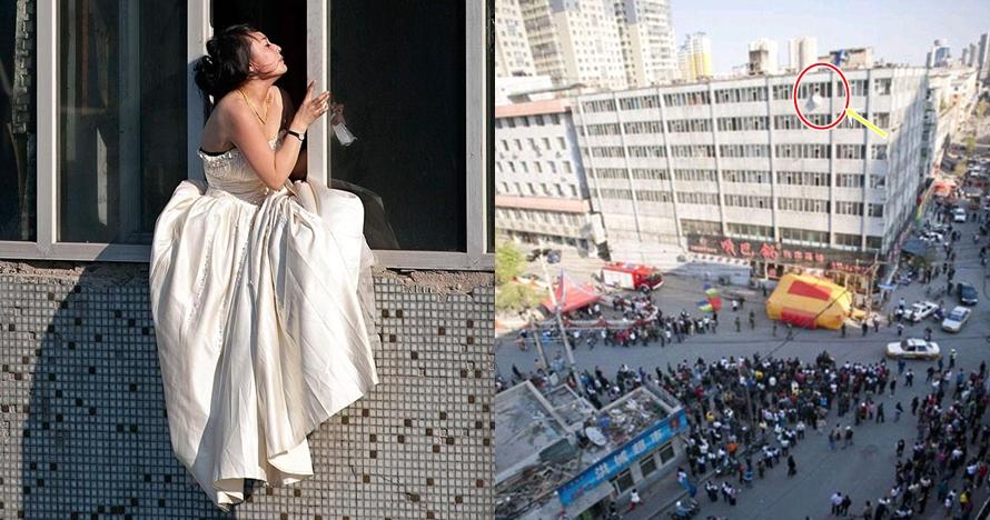 Diputus jelang nikah, wanita ini nekat bunuh diri lompat dari gedung