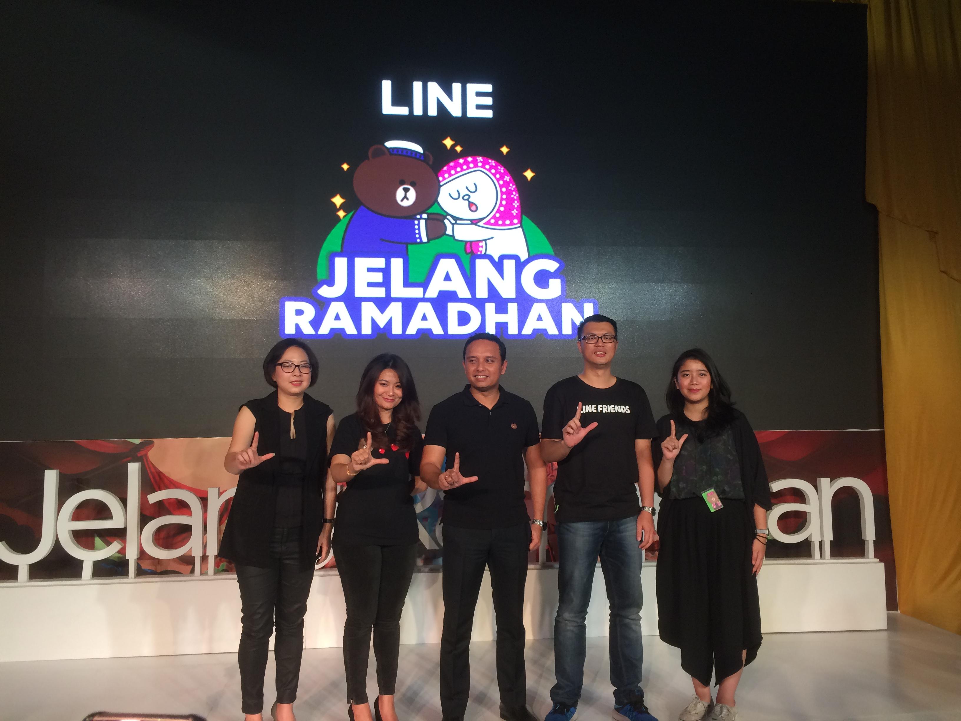 Sambut Ramadhan, LINE Indonesia hadirkan konten terbaru