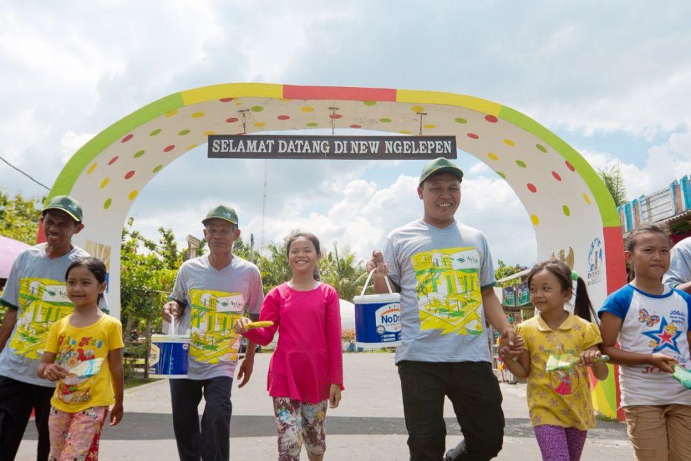 Desa Wisata Rumah Domes, destinasi baru di Yogyakarta © 2017 brilio.net