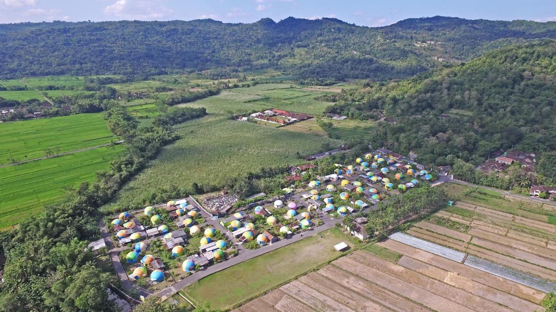 Kampung 'Teletubbies' Jogja jadi penuh warna, yuk tengok seperti apa?