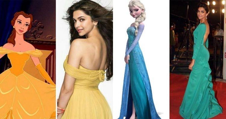 8 Foto ini bukti Deepika Padukone adalah putri Disney di dunia nyata