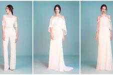 Terinspirasi  ikon Hollywood, ini 7 gaun pengantin karya Tadashi Shoji