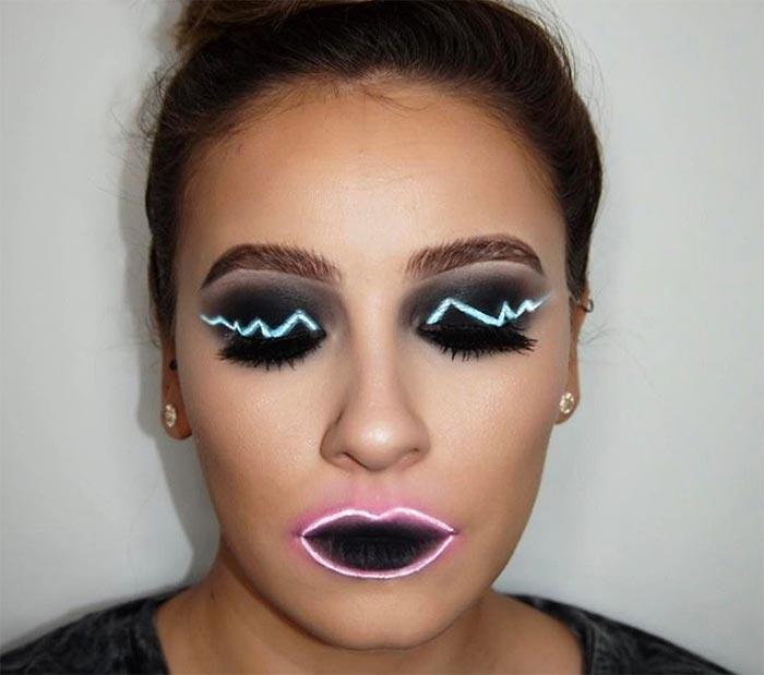 makeup neon  © 2017 berbagai sumber