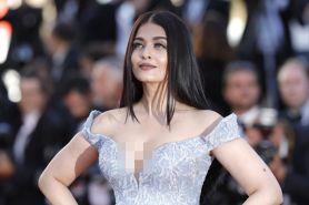 Makeup memukau Aishwarya Rai di red carpet Cannes 2017, ini rahasianya