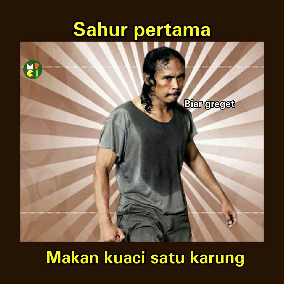 Sahur ikon meme 2017 facebook com memeandragecomicindonesia