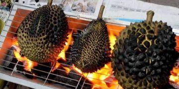 Kuliner unik durian bakar, kelezatannya menggiurkan & bikin nagih