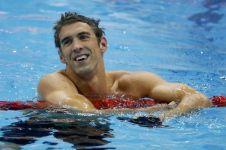 9 Fakta mengejutkan Michael Phelps, perenang peraih 23 emas Olimpiade