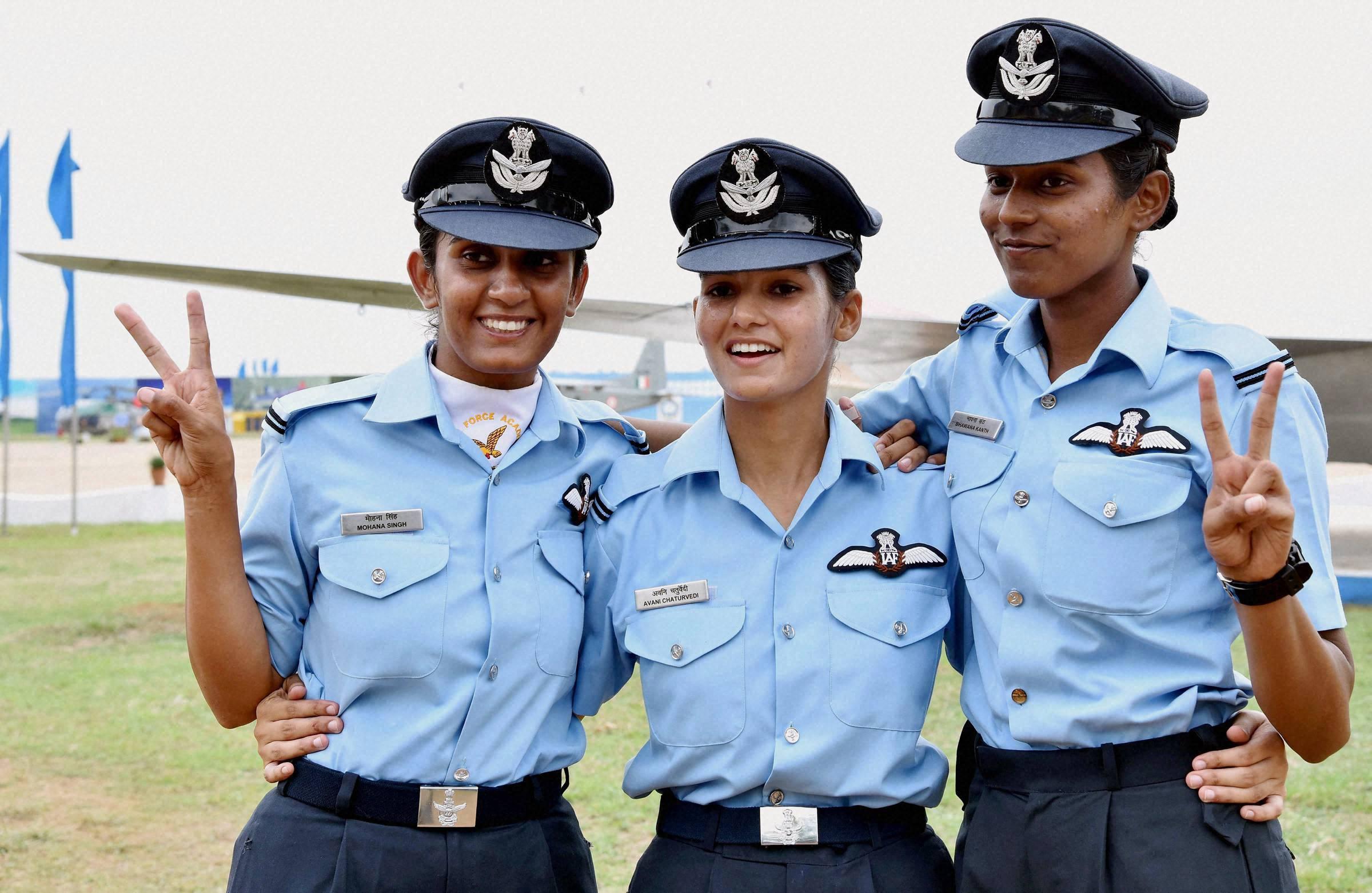 Mengenal trio pilot pesawat tempur wanita pertama asal India