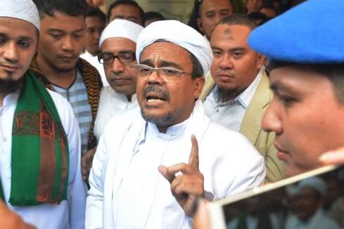 Ini bukti yang dimiliki polisi sebelum tetapkan Habib Rizieq tersangka