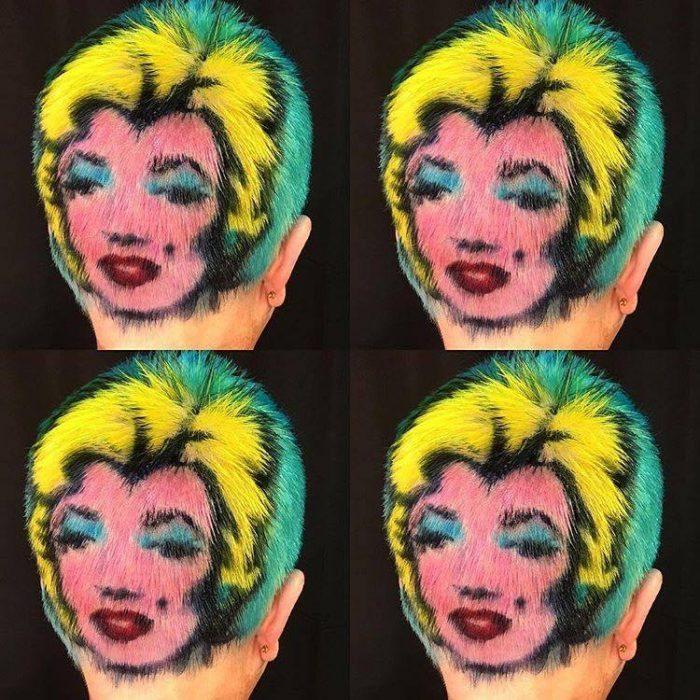 632874 hair painting