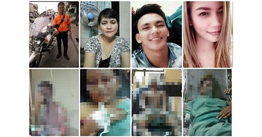 Niat rayakan ultah, keluarga ini merenggang nyawa karena gas meledak