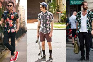 10 Mix & match kemeja Hawaii buat cowok ini ceriakan musim panasmu