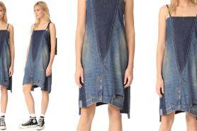 Celana jeans disulap jadi gaun ini dibanderol Rp 5,9 juta lho