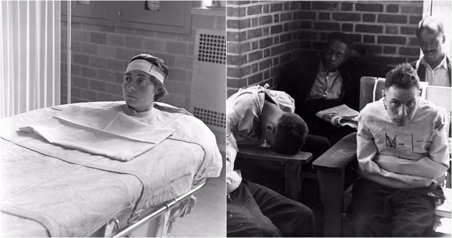 12 Foto suasana rumah sakit jiwa tahun 1930-an ini bikin merinding