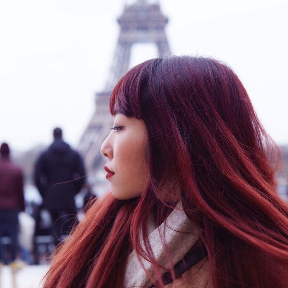 burgundy hair  © 2017 berbagai sumber