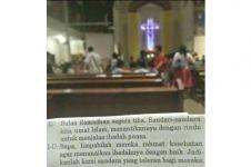 Doa saat misa ini sungguh menyentuh, kuatkan toleransi beragama