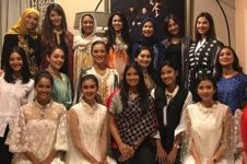 9 Potret momen reuni dan buka bersama Puteri Indonesia 1992-2017