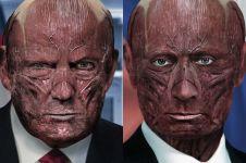 Coba tebak siapa 9 pemimpin dunia ini setelah kulitnya dihilangkan