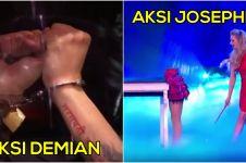 Demian dibanding-bandingkan dengan ilusionis di Britain's Got Talent