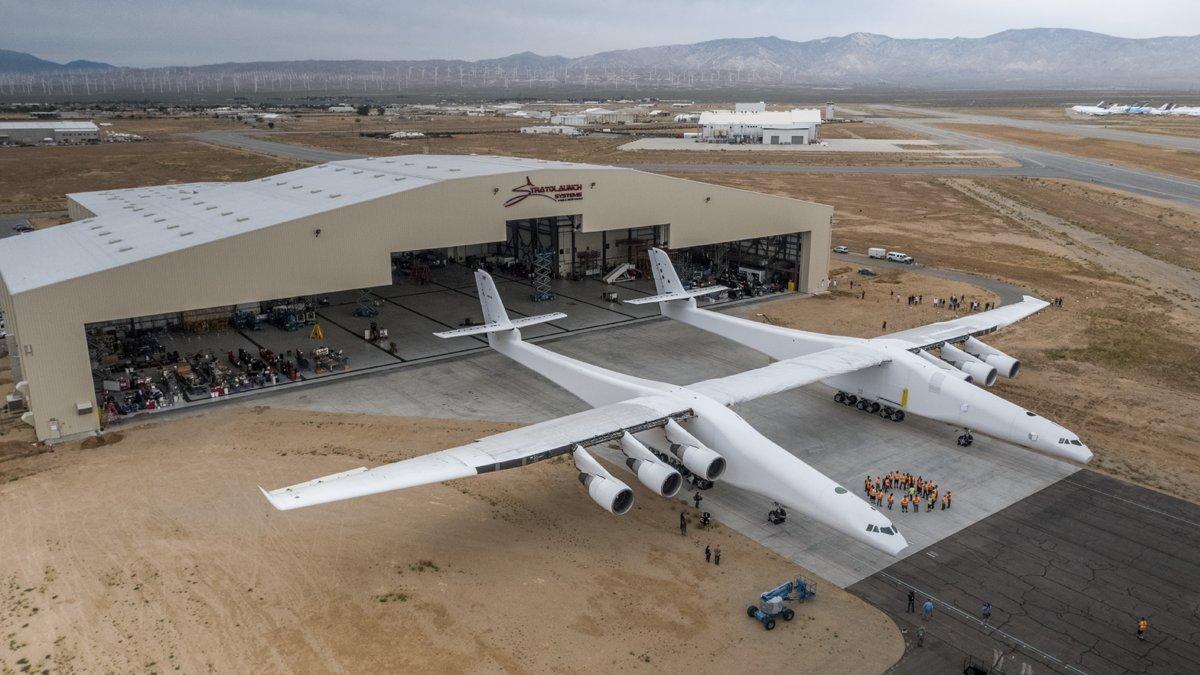 Pesawat terbesar sedunia siap terbang, tujuan pembuatannya bikin kagum