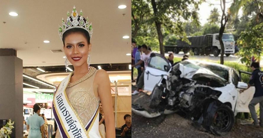 Kecelakaan mobil, kontestan Miss Grand Thailand 2017 ini meninggal