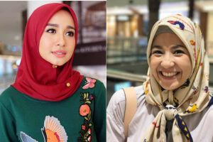 10 Inspirasi gaya hijab seleb paling simpel, cocok dipakai buat bukber