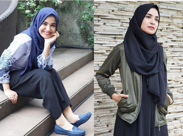hijab seleb bukber © 2017 brilio.net