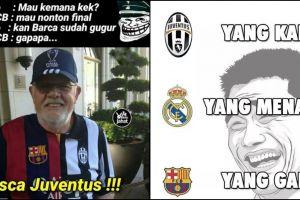 12 Meme kocak Juventus vs Real Madrid yang siap mengocok perutmu