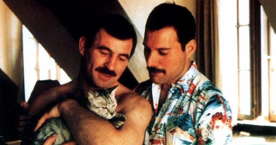 10 Foto langka Freddie Mercury dan pacar prianya di tahun 80-an