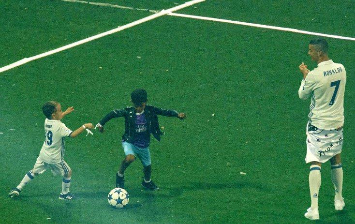 Skill anak Cristiano Ronaldo ini bikin kagum, nggak beda sama bapaknya