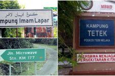 15 Nama desa dan jalan di Malaysia ini uniknya kebangetan