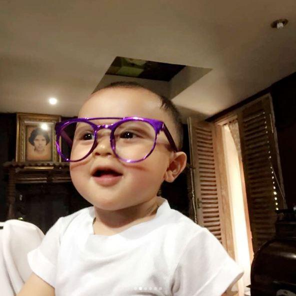 Baby R 1 tahun © 2017 istimewa