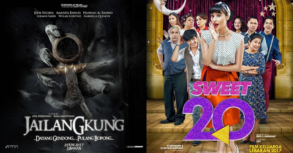 4 Film Indonesia ini siap temani libur lebaran 2017