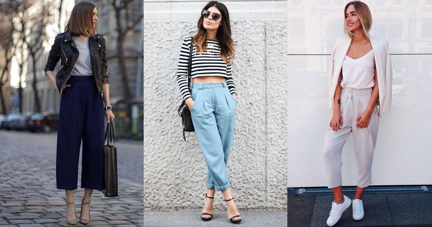 10 Mix & match loose trousers ini bikin tampilanmu simpel dan elegan