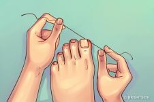 Jangan dikorek, ini cara benar bersihkan kotoran pada kuku kaki