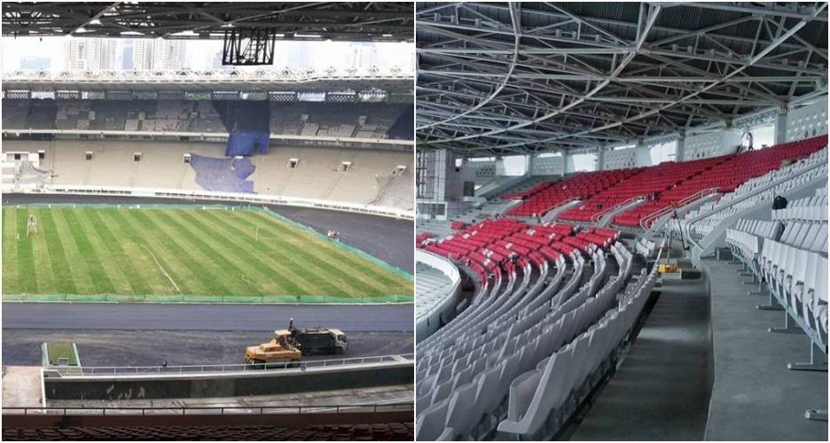 Ini bocoran wajah baru Stadion Utama GBK yang lagi jalani 'oplas'