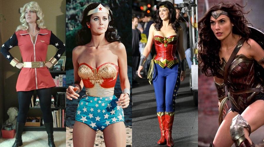 Evolusi kostum Wonder Woman selama 75 tahun, mana yang paling seksi?