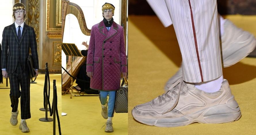 Meski terlihat kotor & kusam, sepatu ini harganya capai belasan juta