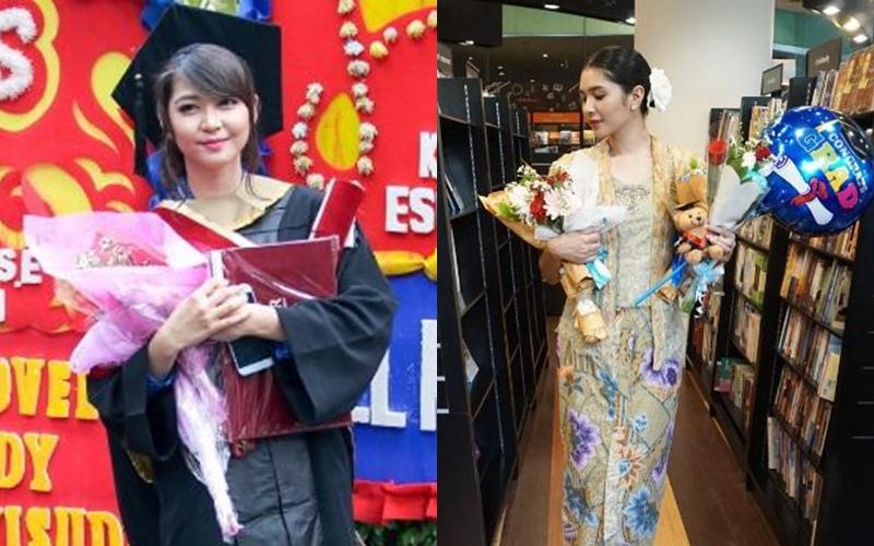 Cantik & berprestasi, 10 artis ini lulus dengan predikat cumlaude