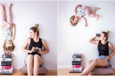10 Pose ekstrem ibu dan anak ini bakal undang tanya 'kok bisa ya?'