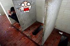 15 Potret toilet umum di berbagai negara, dari mewah sampai jorok abis