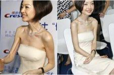 Meski tubuhnya kurus, wanita ini entertainer kondang di China