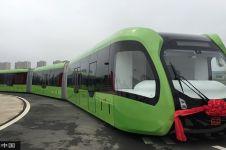 China ciptakan trem tanpa pengemudi, wow
